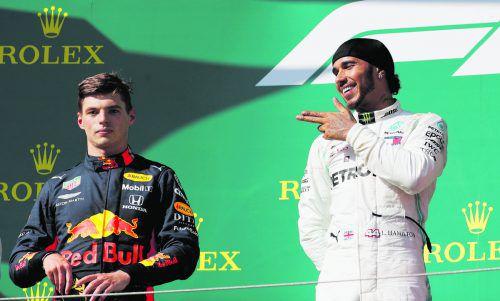 Für Lewis Hamilton war nach dem Grand Prix in Budapest die Welt wieder in Ordnung. reuters