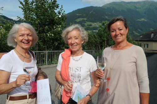 Gabi Konzett, Maria Bitschnau und Christiane Bellutta. Veranstalter