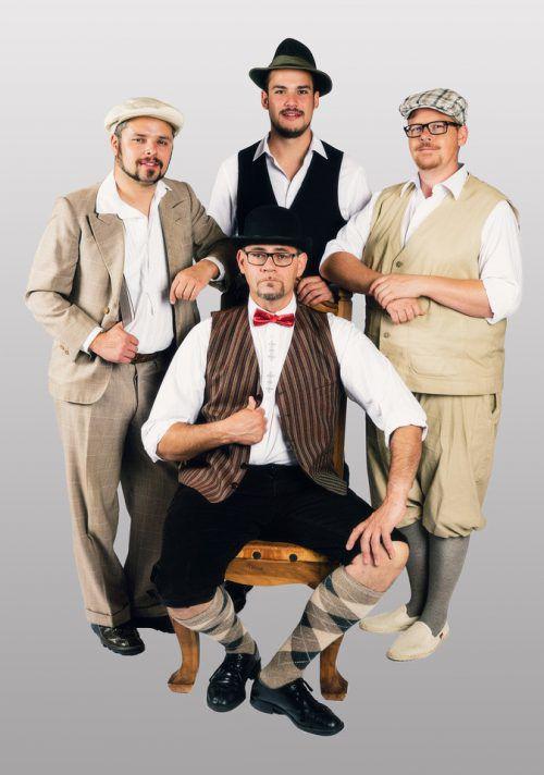 Gesang, Slapstick und deftiger Humor sind die Aushängeschilder der Tyrol Inn Stones.tyrol inn stones
