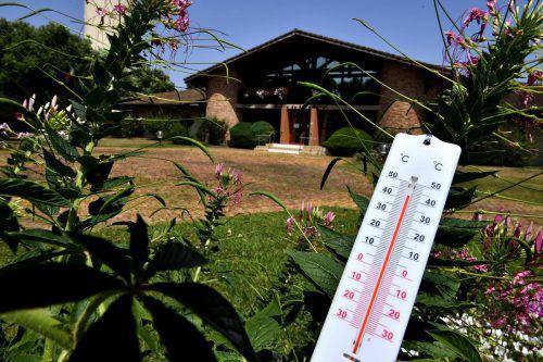 Hitzewellen werden häufiger, ihre Spitzen höher.AFP