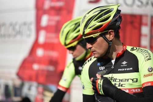 Im Sprint dabei: Roland Thalmann.Haumesser