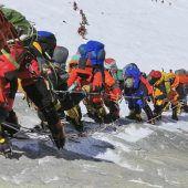 Neue Sicherheitsrichtlinien für Mount-Everest-Bergsteiger