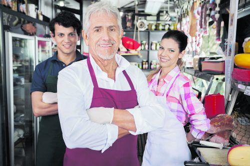 In Familienbetrieben arbeiten oft mehrere Generationen zusammen.Fotolia