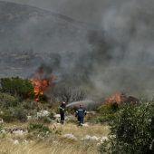 Hitze führte zu Waldbränden in Griechenland und auf Gran Canaria