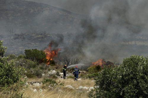 In Griechenland gilt derzeit Alarmstufe Rot für Waldbrände. ap