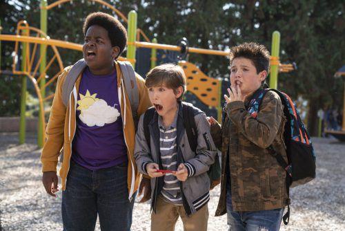 """In seinem Regiedebüt setzt Gene Stupnitsky auf """"Raum""""-Star Jacob Tremblay (M.). Universal Pictures"""