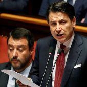 Italiens Regierungschef Conte tritt zurück