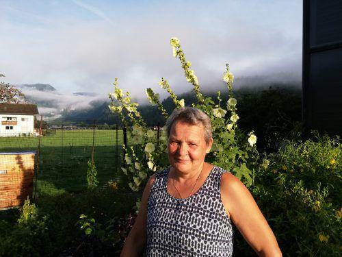 Isabella Moosbrugger engagiert sich für einen nachhaltigen Anbau von Obst und Gemüse.VN/Sab
