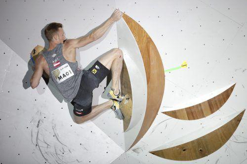 Jakob Schubert hat nun gute Chancen im Kampf um einen Quotenplatz für Olympia 2020 in Tokio.AP