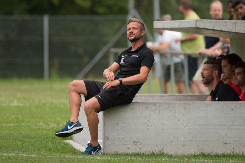 Jürgen Maccani feierte mit Fußach zwei Siege zum Saisonstart.VN-Stiplovsek