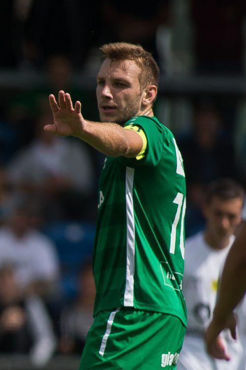 Julian Birgfellner, Kapitän beim DSV, brachte es schon auf vier Treffer.Steurer