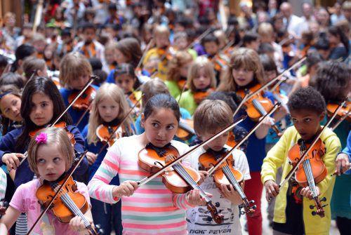 Junge Talente, egal ob sportlich oder musikalisch, sind beim ersten Familien-Kultur-Festival gefragt. DPA
