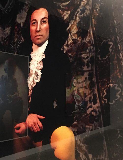 """Keine Selbstporträt-Ausstellung ohne Arbeiten von Cindy Sherman, auch in der """"Face It""""-Schau fehlt die amerikanische Künstlerin nicht. VN/cd"""