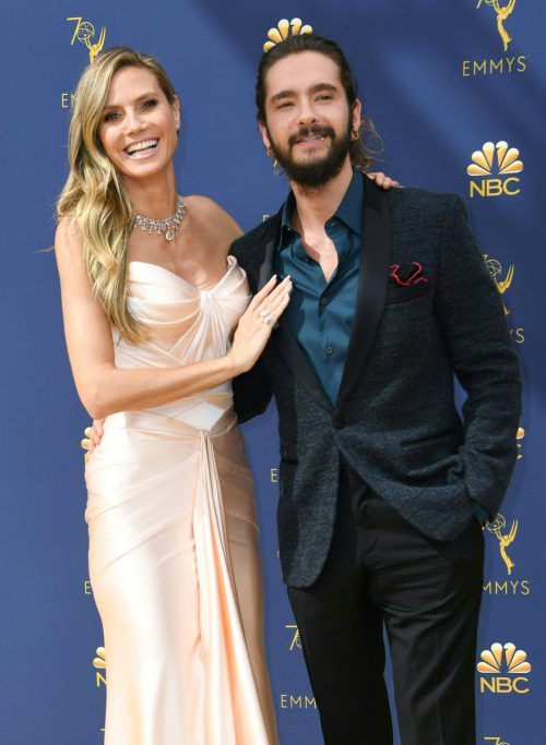 """Klumlitz"" auf Capri: Heidi Klum und Tom Kaulitz haben geheiratet. afp"