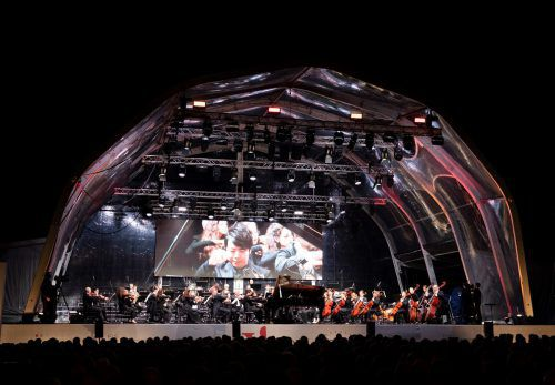 Der Auftakt und das Finale des Festivals finden wieder unter freiem Himmel auf dem Marktplatz von Vaduz statt: Im Vorjahr begeisterte Lang Lang. A. Domjanic