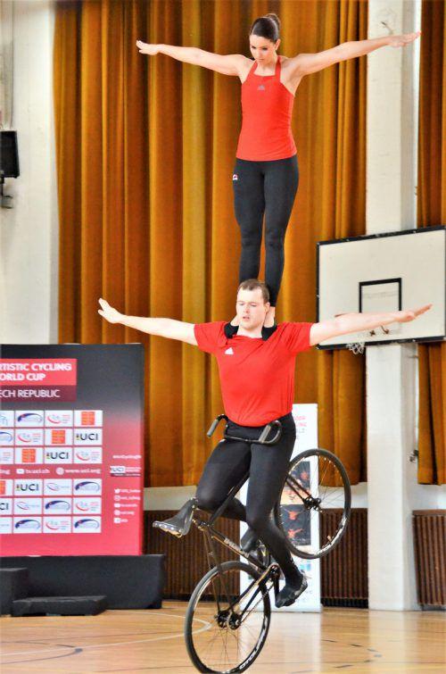Marcel Schnetzer und Katharina Kühne zeigten im Weltcup weiter auf.Verein