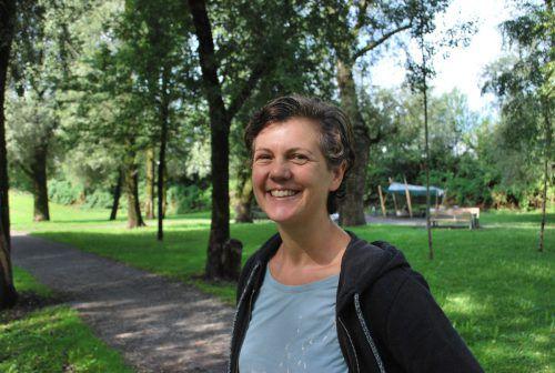 Maria Greußing vom Verein Zeitvertreib.