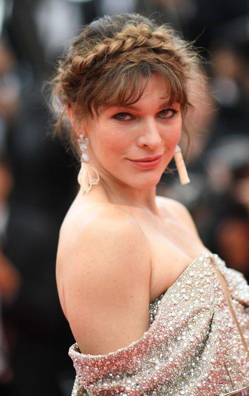 Milla Jovovich erwartet ihr drittes Kind. AFP