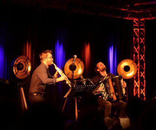 Mit der Jazzbühne hat Organisator Philip Waldhart das Angebot in Lech hervorragend erweitert. Vom letzten Jahr bestens in Erinnerung: Emile Parisien und Vincent Peirani. VN/cd