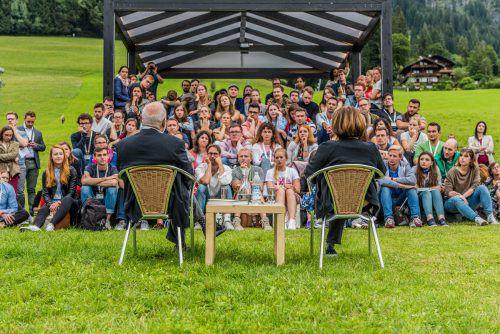 Mit den Stipendien des Club Alpbach Vorarlberg sollen die europäische Zusammenarbeit und Integration gefördert werden. cav