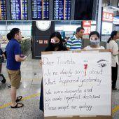 China reagiert mit Unmut