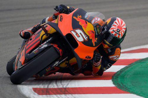 MotoGP-Pilot Johann Zarco verlässt KTM mit Ende des Jahres.AFP