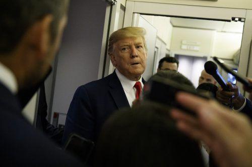 Nach den Schussattentaten wächst der Druck auf US-Präsident Donald Trump. AP
