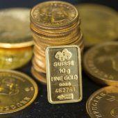 Gold auf dem Weg in neue Sphären