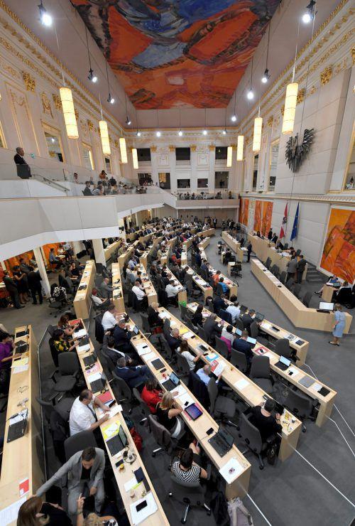 ÖVP und FPÖ vertagtenAnträge zum Informationsfreiheitsgesetz.APA