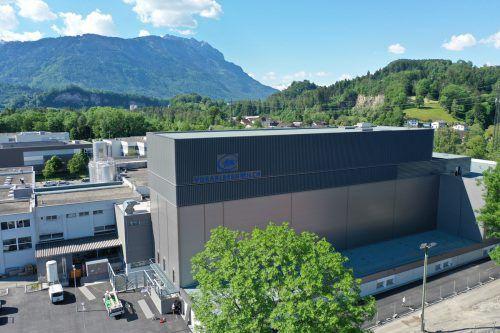 Eines der Großprojekte im zurückliegenden Geschäftsjahr 2018/19 war die Errichtung des Käsekompetenzzentrums der V-Milch. FA