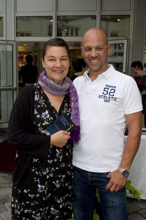 Premierengäste Elisabeth und Daniel Kühne.
