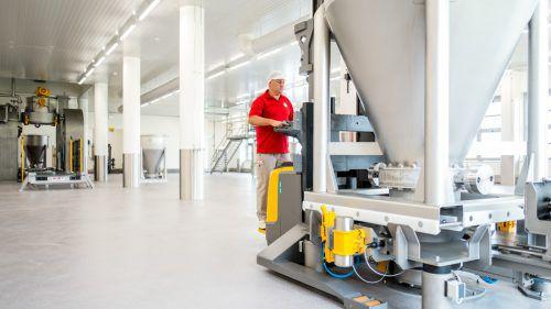 Produktion und Gebäudetechnik überzeugten Auditoren. Fa