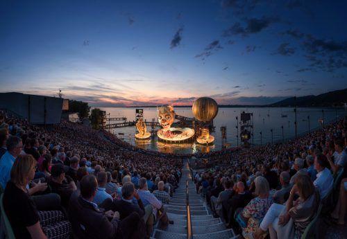 Rigoletto auf der Festspielbühne