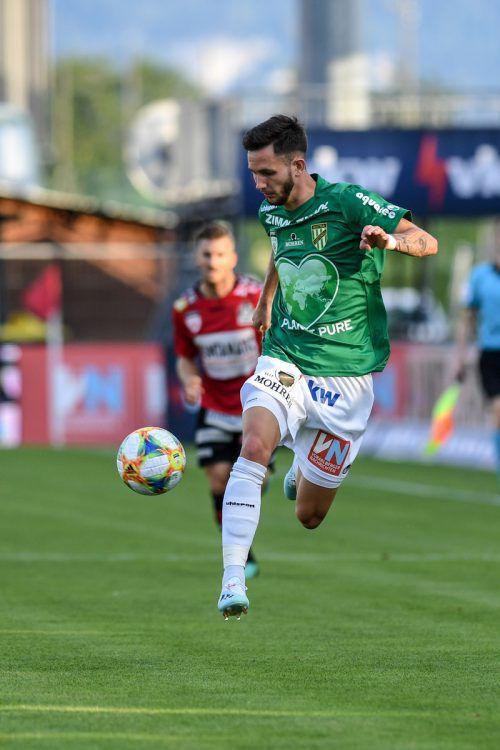 Ruhig bleiben: Thomas Mayer traf für die Austria gegen seinen Exklub.gepa