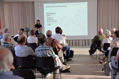 Rund 50 Interessierte kamen im Raiffeisen-Forum zusammen. Stadt