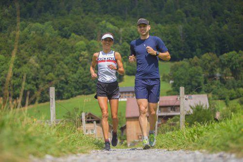 Sandra Urach und Wolfgang Michl freuen sich bereits auf die 50-Kilometer-Weltmeisterschaft in Rumänien.privat