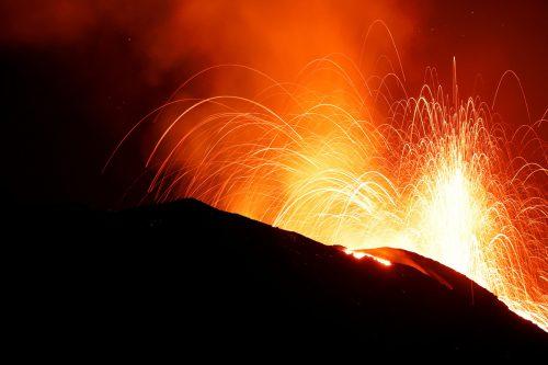 Der Stromboli gilt als einer der aktivsten Vulkane der Welt. afp