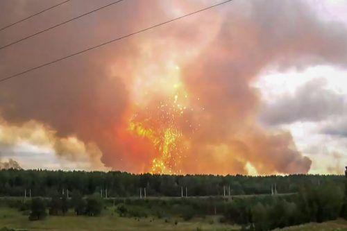 Seit Wochen toben in der Taiga verheerende Waldbrände. AFP