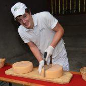 3021 Laib Käse und kein Ende in Sicht