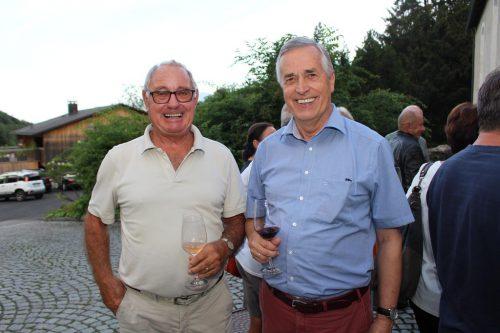 Sigi Winsauer und Bernhard Wiederin.
