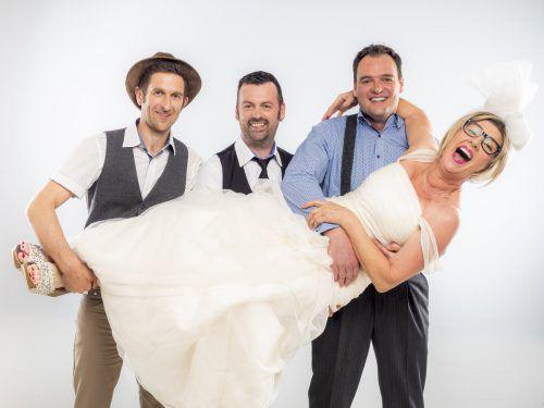 Im neuen Kabarett von Gabi Fleisch soll geheiratet werden. Aber wen?