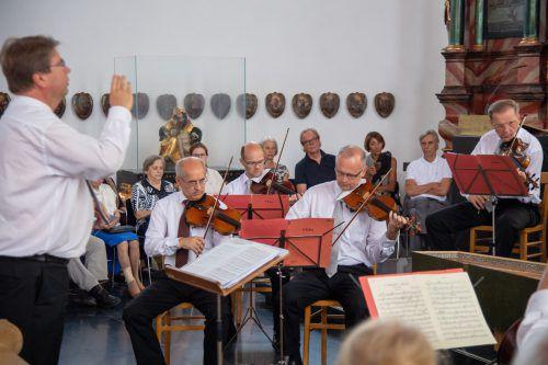 Strahlender Fixpunkt der Vorarlberger Konzertszene: Christian Birnbaum mit Wiener Symphonikern in Bildstein. Lerch