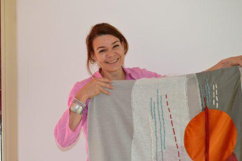 Ulli Gebhart hat sich ihr Hobby und ihre Leidenschaft zum Beruf gemacht. bi