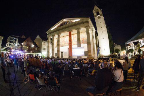 Ungestörtes Kinovergnügen unter freiem Himmel mitten in Dornbirn. Dornbirn Tourismus