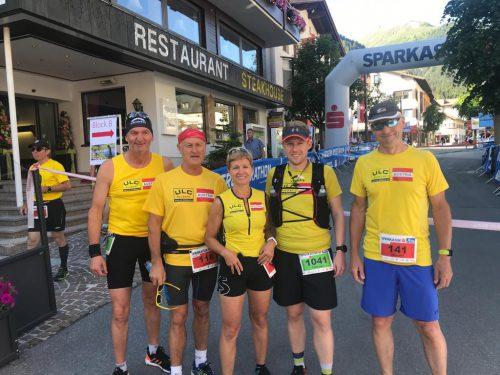 Viele Glücksgefühle gab es beim Montafon-Arlberg-Marathon.Union Laufclub Bludenz
