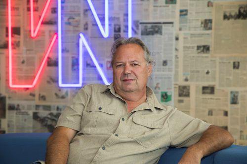 Norbert Schwendinger hat zwölf Kriminalfälle in sein Buch aufgenommen.VN/Paulitsch