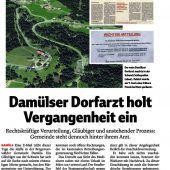Neun Monate bedingt: Damülser Dorfarzt in der Schweiz erneut verurteilt