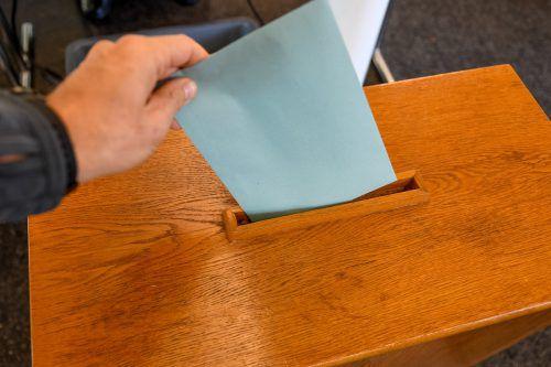 Vorarlbergers Wähler können zwischen neun Parteien wählen. VN/Lerch