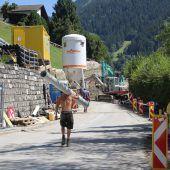 Montjolastraße in Schruns wird saniert