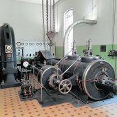Dampfgenerator bei Rhombergs Fabrik